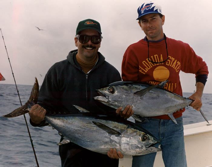 Fishing guide key west capt rob delph blackfin tunas for Key west fishing guides