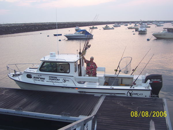 Stripers at race point and plymouth bay for Fishing charters plymouth ma