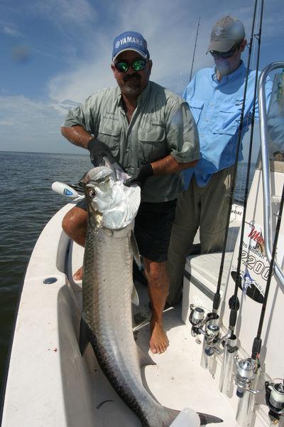 Everglades national park flamingo open for business for Flamingo fishing report