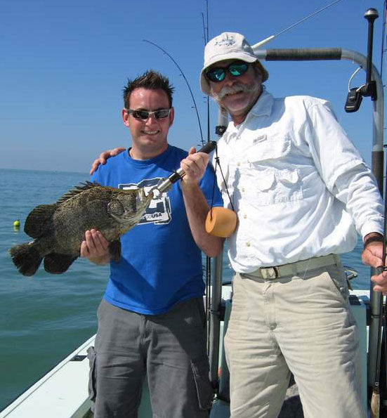 Find fishing guides charters for Tampa bay fishing outfitters