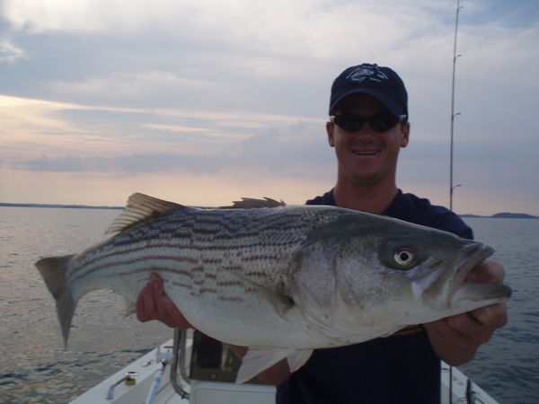 First fish of the season boston harbor for Boston harbor fishing report