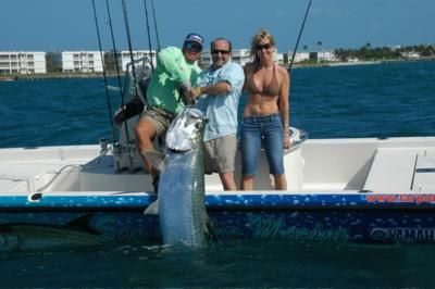 Fort myers and boca grande tarpon fishing report for Port charlotte fishing charters