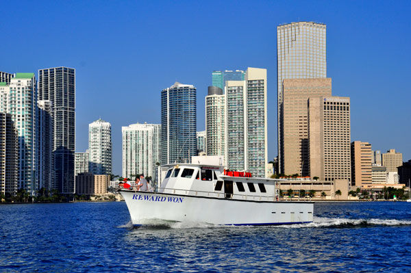 Miami party boat fishing report for Miami fishing party boat