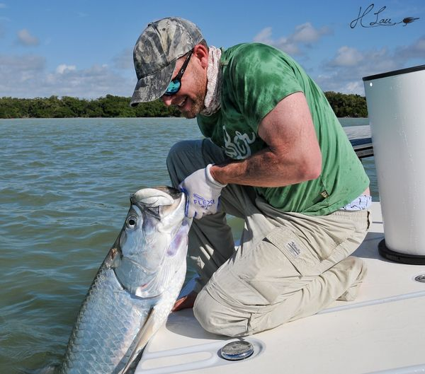 Everglades back country fishing report for Flamingo fishing report