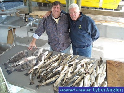 Hopedale speckled trout action for Hopedale fishing report