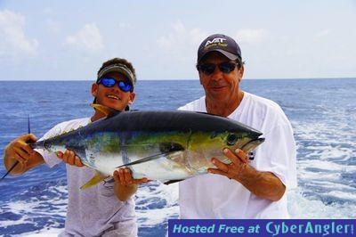 Costa rica fishing reports december 2009 for Usa fishing report