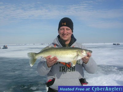 Big water walleye on lake erie with erie quest for Fishing forecast ohio