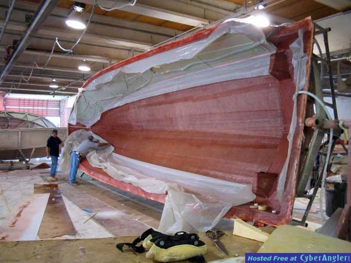 31' Seavee Under Construction