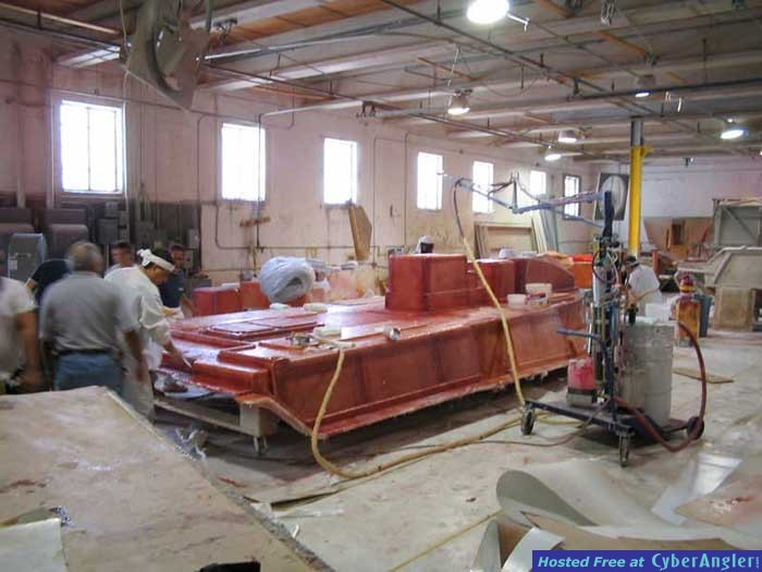 31' Seavee Under Construction