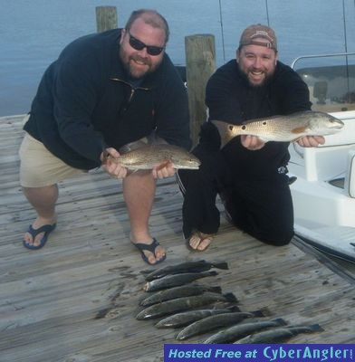 Destin redfish and speckled trout for Destin florida fishing report