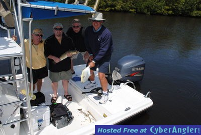 Action packed fishing in fort myers cape coral and sanibel for Cape coral fishing report