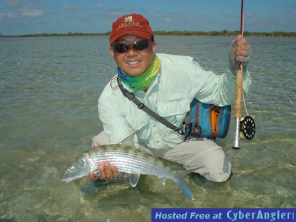 Jon Yenari's Andros South fly bonefish