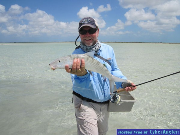 Capt. Rick Grassett's Andros South fly bonefish