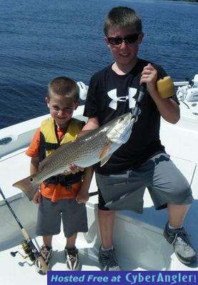 Destin redfishing on fire for Destin fishing forecast