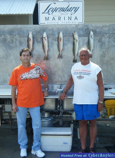 Destin Fishing Report on Target Species Redfish Speckled Trout More Fishing Reports All Reports