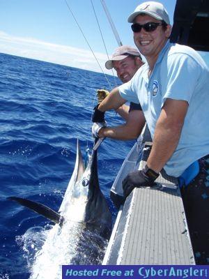 Marlin on a Jig Rod!