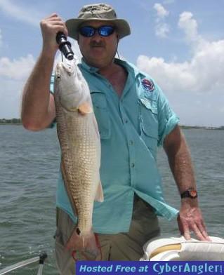 July 2010 sabine lake fishing report for Sabine pass fishing report