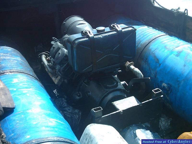 cuban raft diesel motor