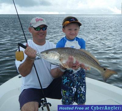 Destin inshore fishing report for Florida saltwater fishing report