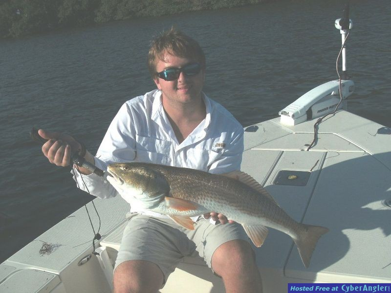 First Redfish of the day