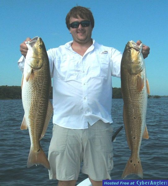 Matt and Captains Redfish
