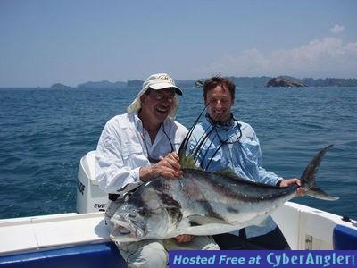 Quepos fishing report happy green season anglers for Costa rica fishing season