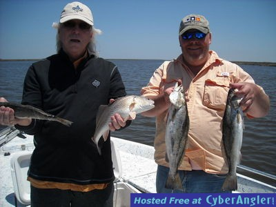 Trout are jumping in hopedale la for Hopedale fishing report