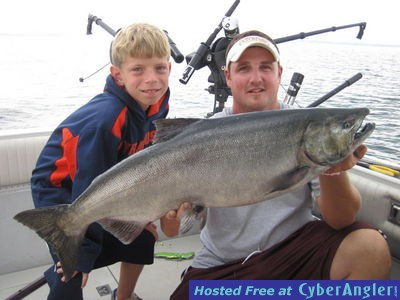 Oswego report 10 21 for Oswego river fishing report