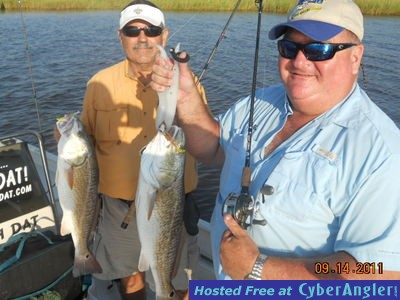 Cocodrie cocahoes bust up dularge fish 9 14 11 for Cocodrie fishing report