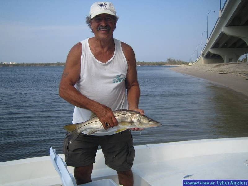 Dad's 2nd Snook