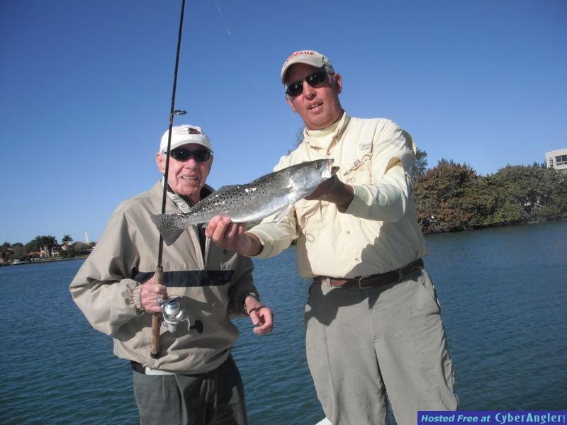 Sarasota trout with Capt Jim Klopfer