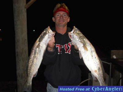 Goin 39 coastal charters catching speckled trout wade fishing for Saltwater wade fishing gear