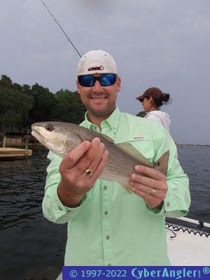 Panama city beach fl topwater trout and redfish for Pcb fishing report