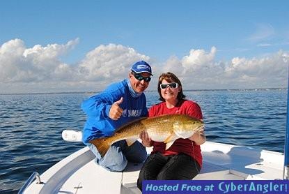 Pensacola Bay Redfish