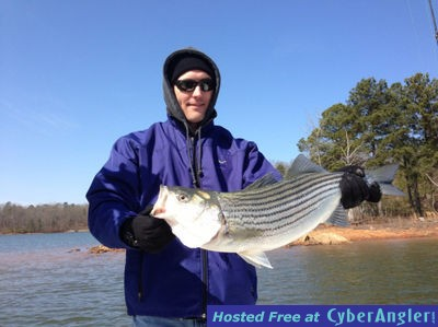 Spring striper and crappie fishing on lake lanier for Crappie fishing in ga