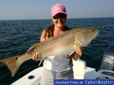 Redfish charter trips biloxi ms for Ms fishing report