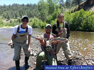 Dry fly fishing in pagosa springs colorado for Fishing colorado springs