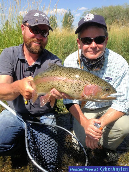 Mark Leidy Ruby River rainbow trout
