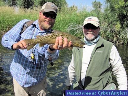 Capt. Rick Grassett Beaverhead River brown trout