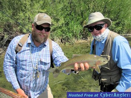 John Freeman, Jr. Beaverhead River brown trout