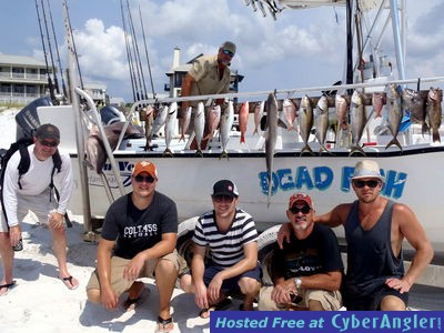 Fishing At Grayton Beach Is Excellent Dead Fish Charters
