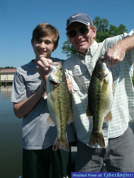 Alabama's Coosa River Lakes Logan Martin and Lay Lake For Summertime Spotte