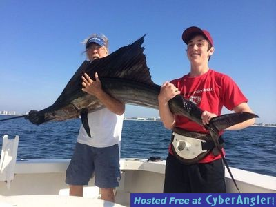 Sailfish for Destin fl fishing report