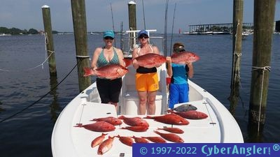 Red snapper fishing in panama city fl for Panama city fl fishing report