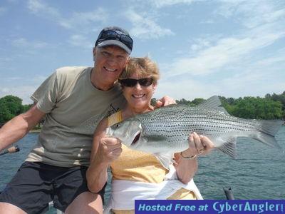 Lake hartwell fishing forecast for june for Lake hartwell striper fishing report