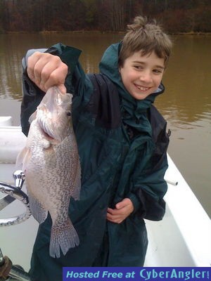 Crappie gone wild for Lake oconee fishing report