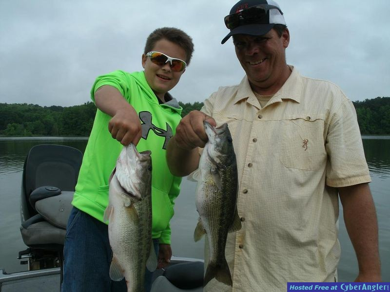 Logan Martin Lake Al. For Big, Summertime Largemouth's and Spotted Bass!