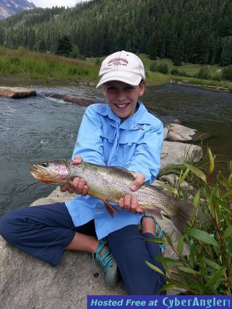 Fly fishing the san juan mountains in pagosa springs co for Colorado springs fishing