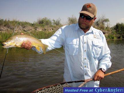 Capt. Rick Grassett Montana fly trout