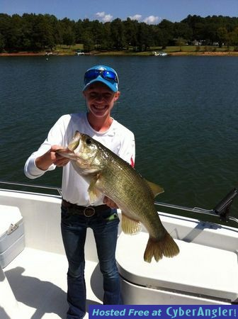 Fishing forecast for lake hartwell october 2014 for Fishing lake hartwell